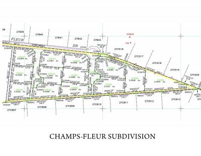 CHAMPS FLEUR SUBDIVISION