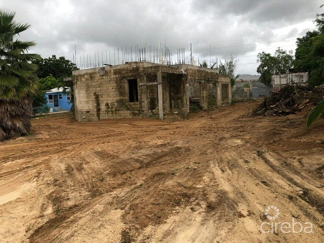 LAND WITH PARTIALLY BUILT HOUSE - Image 2