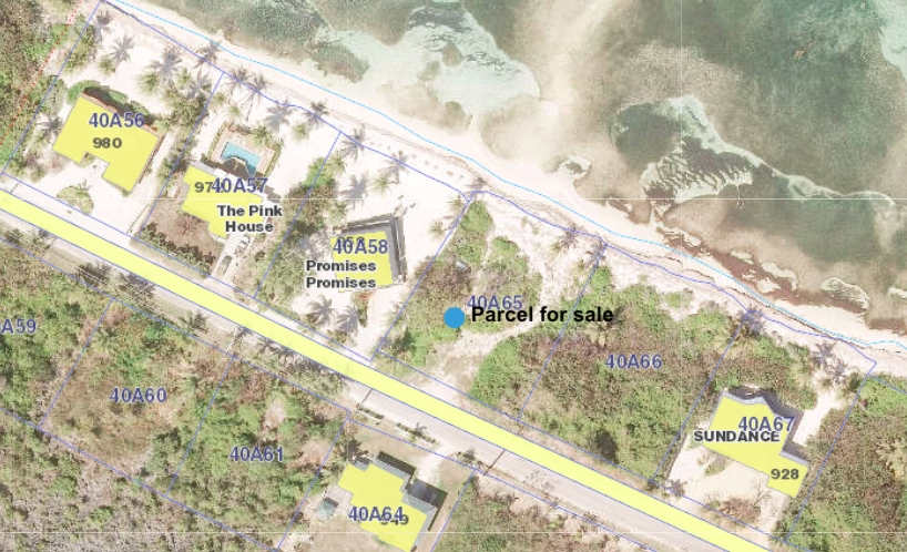 RUM POINT BEACH FRONT LAND - Image 1